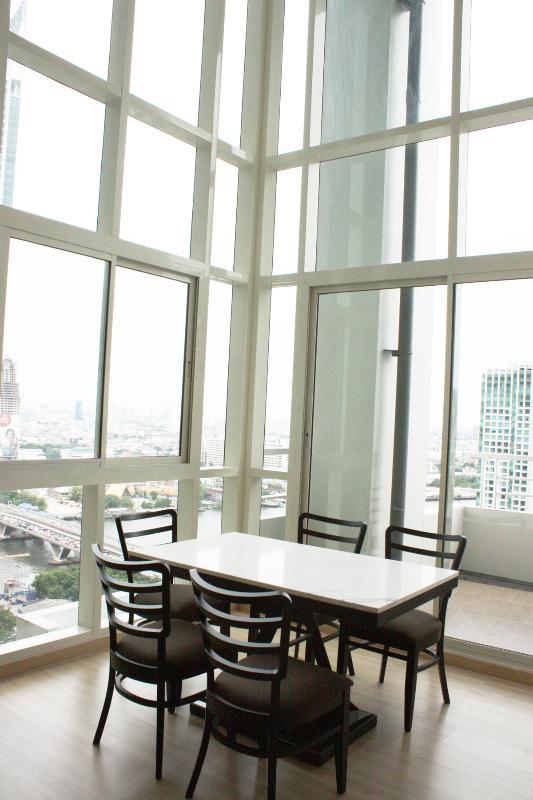 3 Bedroom Penthouse by the Chao Phraya River + BTS - Image 1 - Bangkok - rentals