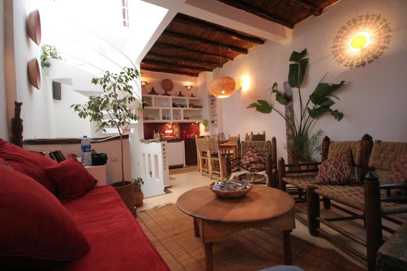 2nd floor, living area - 3 bedroom House in the Medina. - Marrakech-Tensift-El Haouz Region - rentals