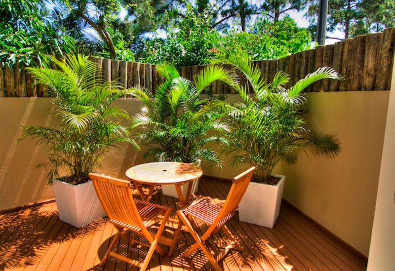 Backyard - Praia Mole 4 bed / 4 bathTownhome Ideally Located! - Florianopolis - rentals