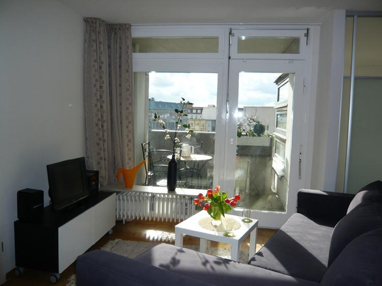 view to loggia - Friederike Central location nearby opera & castle - Berlinchen - rentals
