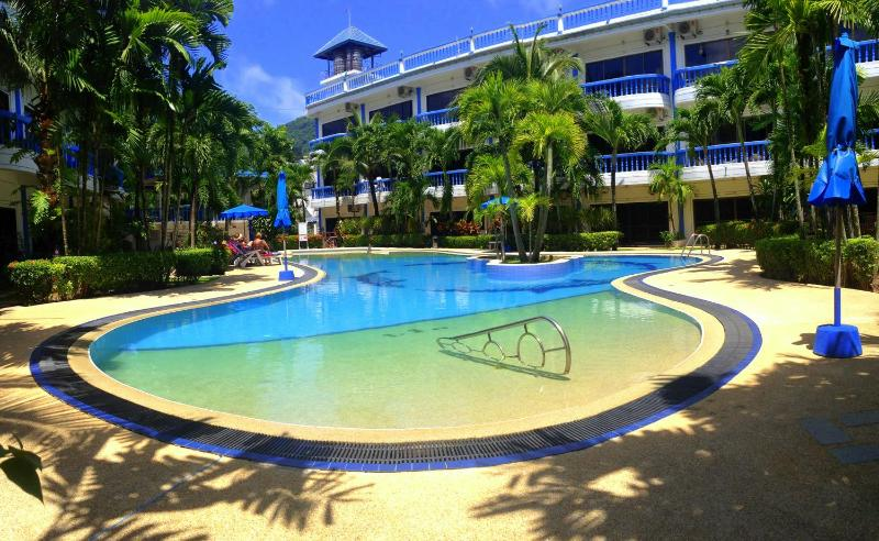 A huge swimming pool is in the area, just 20 meters from the house. - K38 - Spacious 3 bedroom 250 m. to Kamala Beach - Kamala - rentals