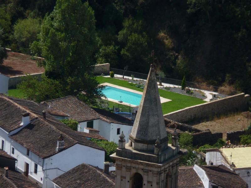 The gardens from the Peña - Charming village house in hidden Andalusia best of both worlds. - Alajar - rentals