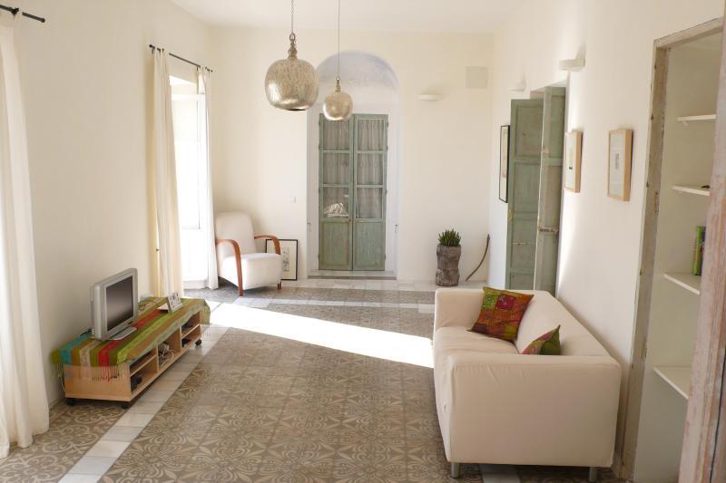Living Room - Elegant Apartment In Vejer Old Town - Vejer - rentals