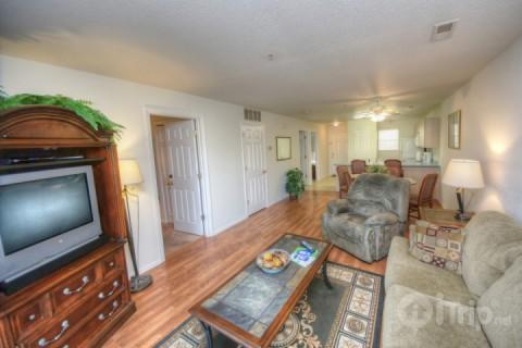 Living area - 2 bed/2 bath condo in Fall Creek - Branson - rentals