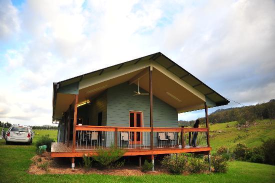 2 bedroom eco cabin - Lillydale Farmstay - Mount Barney National Park - rentals