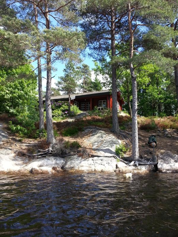 Rent your own lovely cottage on an island 5000 m2 in a very quiet nature. - Image 1 - Henan - rentals