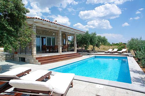 Sunbathe and splash around the pool - AdriaBol Luxury Villa with pool Sole 2 - Bol - rentals