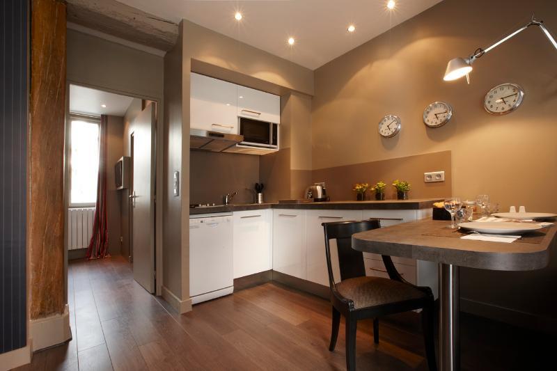 Kitchen - Awesome 1 Bedroom Apartment in Paris - Paris - rentals