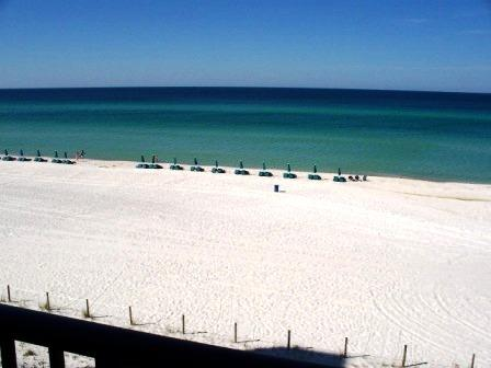 Beach from Living Room - Luxury Beach Front,SEACHASE (W303) 2B/2B - Panama City Beach - rentals