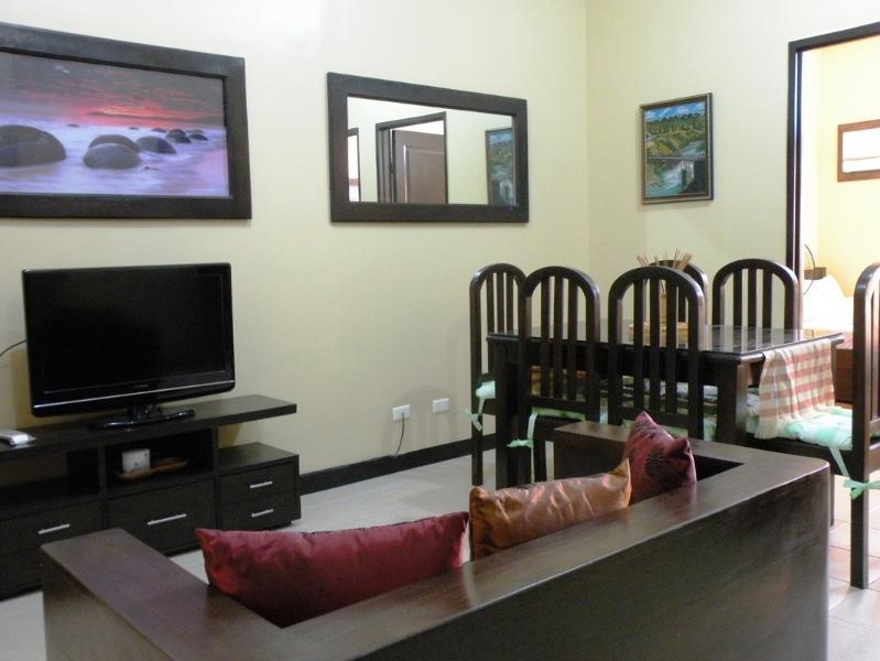 Living Room - 2 BR Condo, Taguig City - Celesta Penthouse A - Philippines - rentals