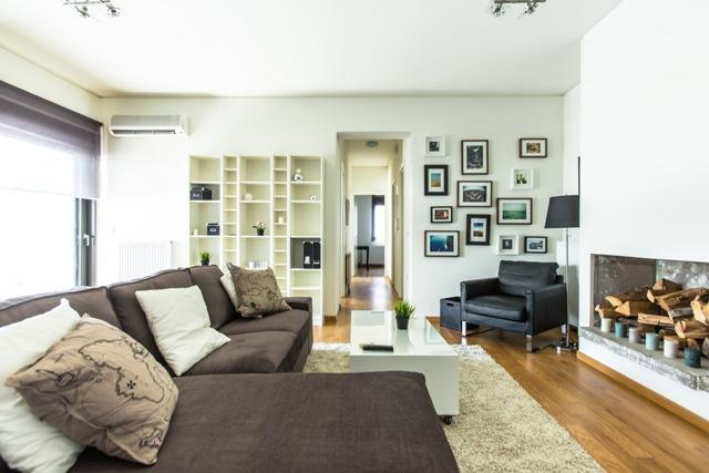 Living room - Apartment at Marousi, Evropis - Athens - rentals