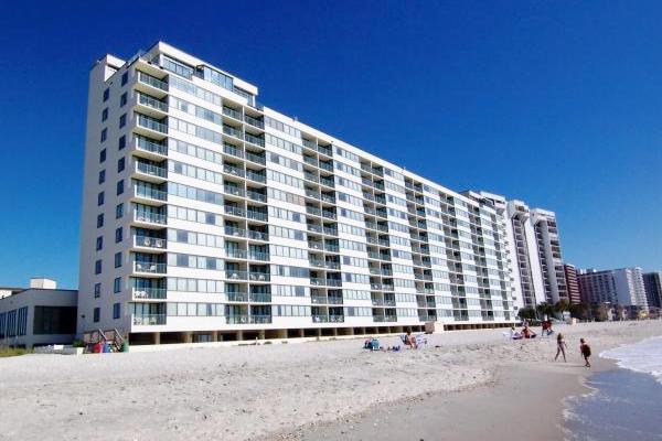 Sands Beach Club building - Oceanfront @ Sands Beach, 11th floor, WiFi/pools! - Myrtle Beach - rentals
