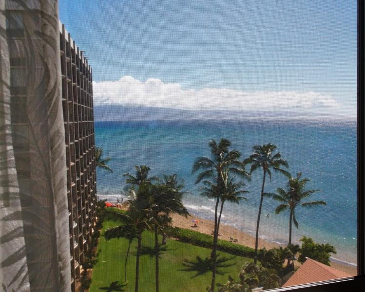 Beautiful ocean view from the bedroom - Royal Kahana #815 - Stunning Views! Free Wi-Fi! - Lahaina - rentals