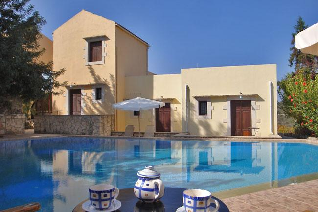 the property - Crete – houses in Douliana village near the sea - Vamos - rentals