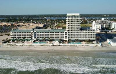 Aerial Photo of the Resort - Daytona Beach Resort & CC/City View Studio - Daytona Beach - rentals