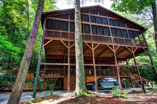Riverwatch Retreat - Riverwatch Retreat riverfront luxury on the Toccoa River - Blue Ridge - rentals