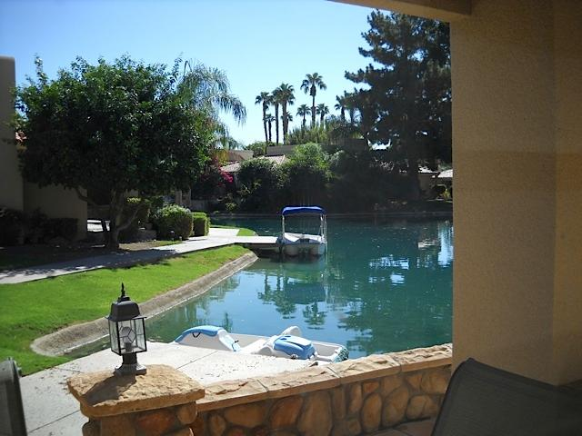 Lake, Dock and Boat - LUXURY PALM SPRINGS LAKE HOUSE - Palm Springs - rentals