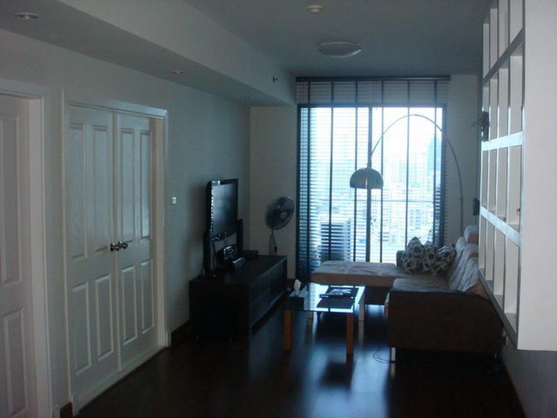 New 1 bed room Condo 28fl,  Sukhumvit  21 (Asoke) - Image 1 - Bangkok - rentals