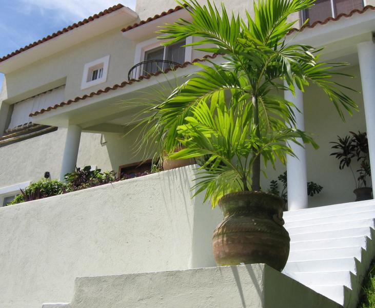 Coming Up the Steps - Spacious home, perfectly located in Huatulco - Huatulco - rentals