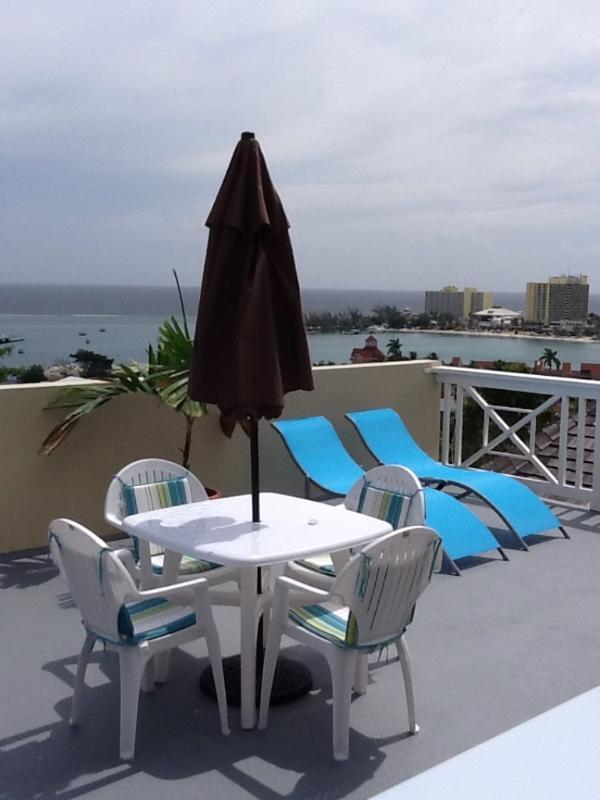 View from patio. - OCHO RIOS JAMAICA STUNNING CONDO AND AMAZING VIEWS - Ocho Rios - rentals