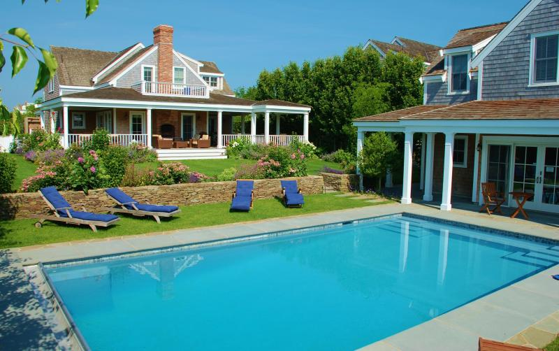 Main & Pool House - Luxury 8br 7ba Home, Pool,guest House - Nantucket - rentals