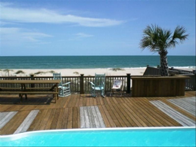 Oceanfront View - 8 Bedroom 8 Bath Oceanfront with Private Pool - Ocean Isle Beach - rentals