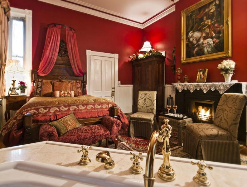 Gaston Room - The Gaston Room, Historic District, Victorian Home - Savannah - rentals