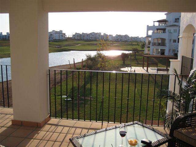 Evening sun on the balcony - Luxury Apartment on Hacienda Riquelme Golf Resort - Murcia - rentals