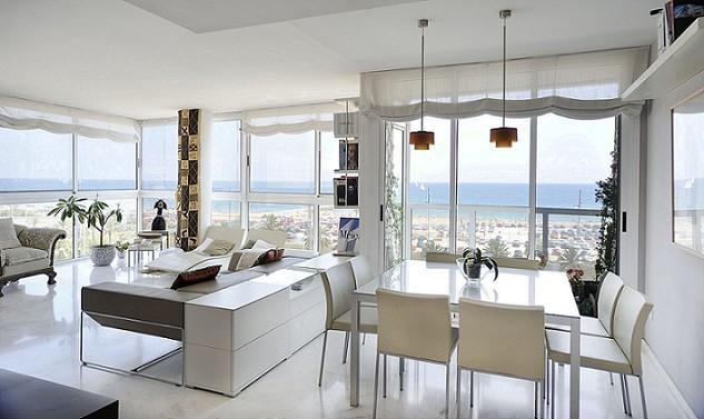 B335 FRONT BEACH LUXURY APARTMENT - Image 1 - Barcelona - rentals