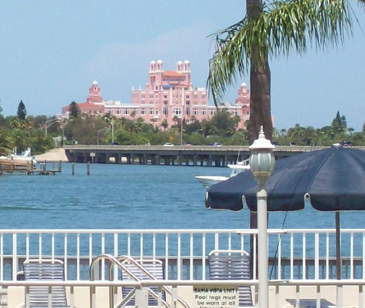 Don Cesar from the Pool Area - Sandy Toes, Sailboats, & Sunshine All on Isla!!! - Saint Petersburg - rentals