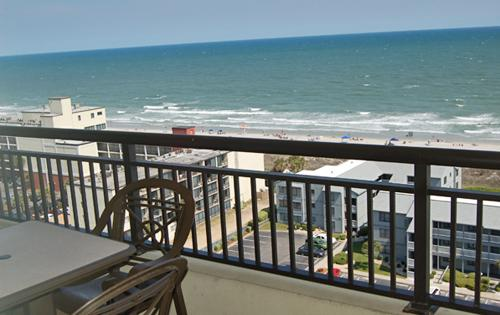 Great view from 15th floor private balcony - Great 3BR @ Tilghman, indoor/outdoor pool/Jacuzzi! - North Myrtle Beach - rentals