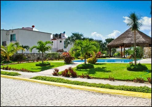Shared pool and Thatch - Nice condo for rent at Playa del Carmen Mexico ! - Playa del Carmen - rentals