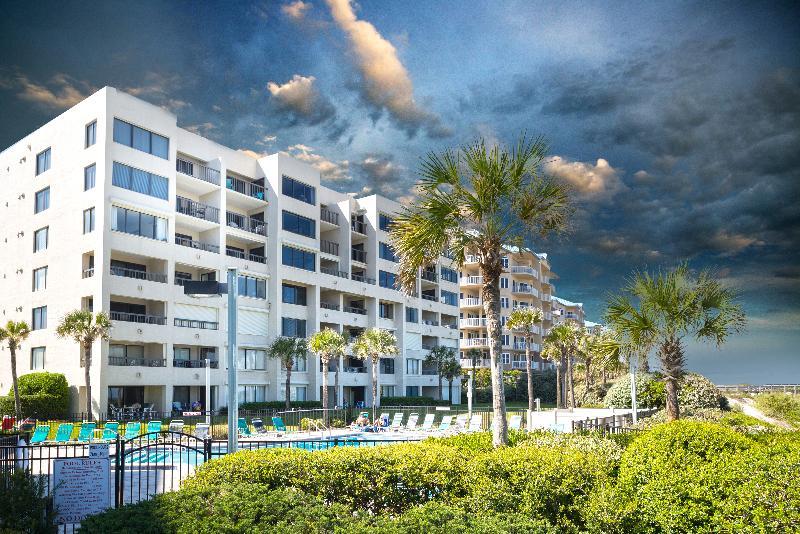 View of property from Beach - Surf & Racquet Club C102 Oceanfront - Fernandina Beach - rentals