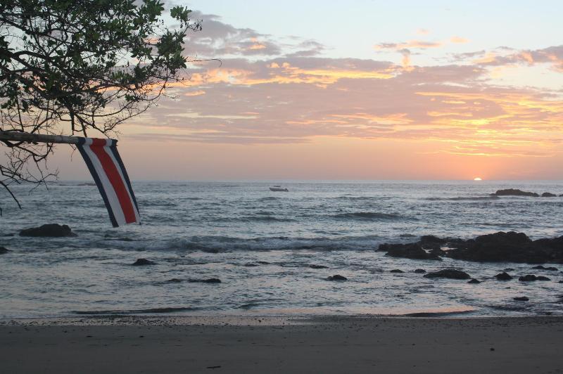 Your Ocean View - Private Oceanfront Beach Log Cabin - Playa Junquillal - rentals