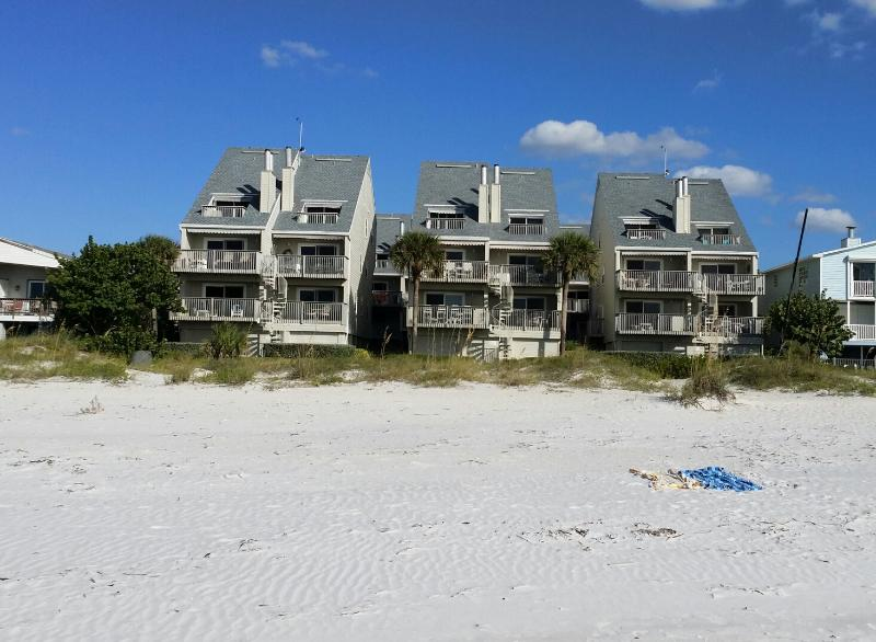 View from the beach and ocean - Spectacular Luxury Beachfront Condo PELICANS POINT - Indian Shores - rentals