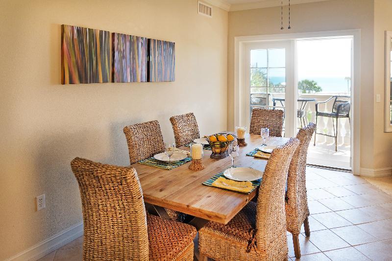 Dining area - Fernandina Cay 204 Oceanview - Fernandina Beach - rentals