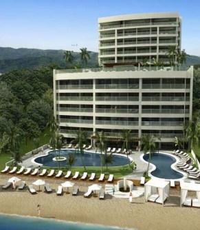 Beachfront property - New Luxury Beachfront 2BR 2BA Condo - Ocean Views - Bucerias - rentals
