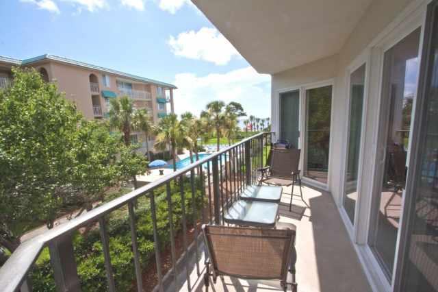 View from the balcony - Great Ocean View Condo on the Beach - Saint Simons Island - rentals