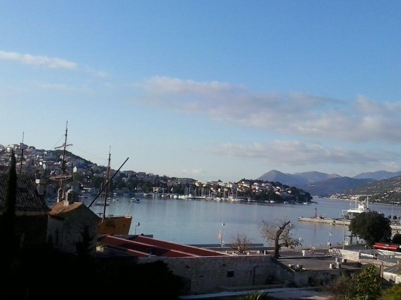 """view from my property on the port of Gruž - """"Apartment Ljlja"""" - Dubrovnik - rentals"""