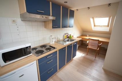 Private kitchen in flat Birgen at YENN - Business flat Birgen at YENN in Leuven - Leuven - rentals