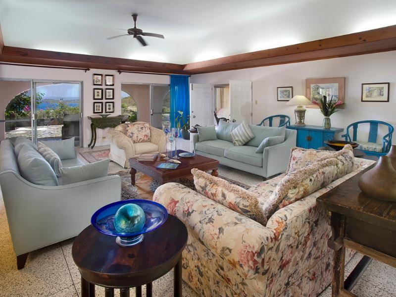 Allamanda Estate Living Room - Allamanda Estate A Dream Villa With Amazing Views - Tortola - rentals