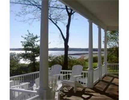 View from Front Porch - Historic Munro Estate in Village of Mattapoisett - Mattapoisett - rentals