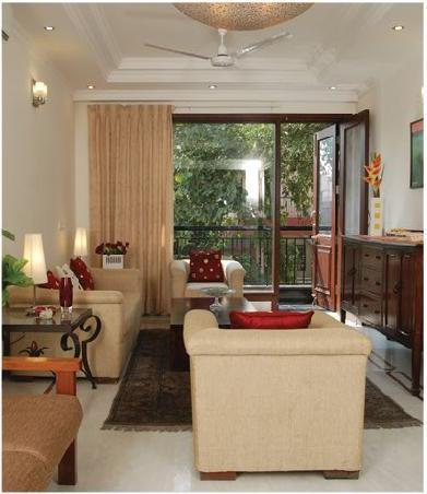 Living Room - Tree of Life bed & breakfast - New Delhi - rentals
