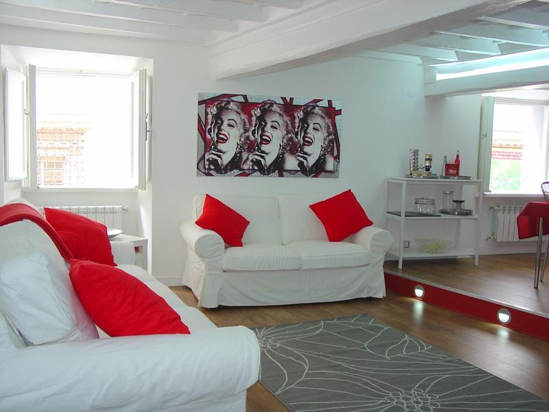 Silver Giulia Apartment - near campo de Fiori - Image 1 - Rome - rentals