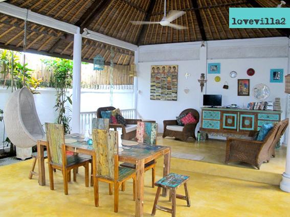 Love Villa2 open living - Spacious Tropical Garden/Pool Villa 66Beach locale - Legian - rentals