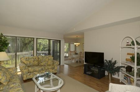 Living room  - 2386 Lighthouse Tennis - Hilton Head - rentals