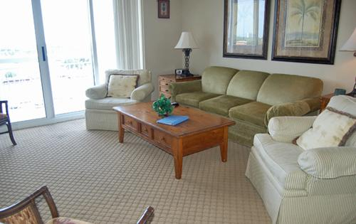 Spacious Living Area - Sprawling luxury 4BR @ Barefoot North Tower 1009 - North Myrtle Beach - rentals