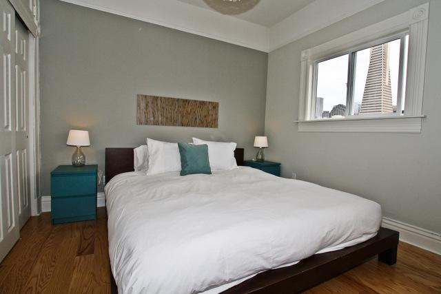 Bedroom 1 - North Beach - Downtown Views - San Francisco - rentals