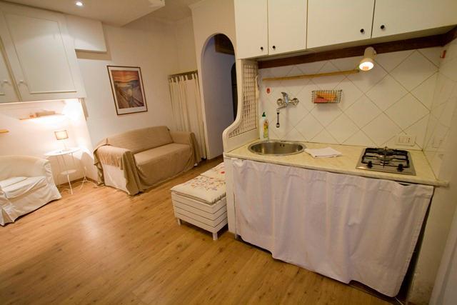 kitchen - living - Colosseo White - Rome - rentals
