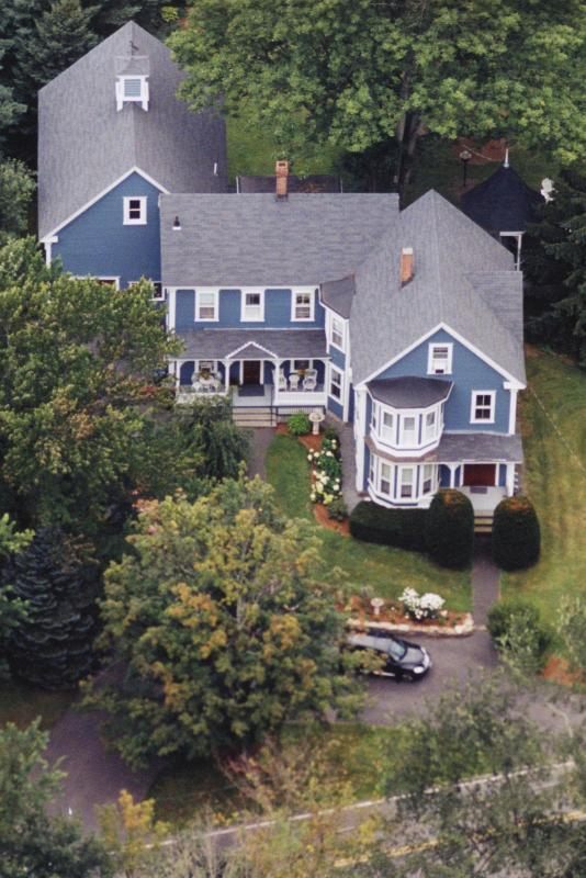 Sky View of Richards Lakin House - Richards Lakin House Apartment - Pepperell - rentals